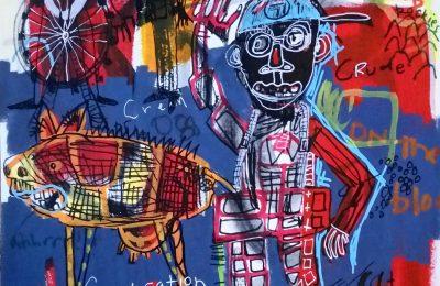 Marc Rayner målningar och skulpturer