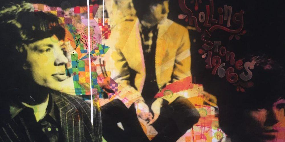 Rolling Stones – Foto och mixmedia