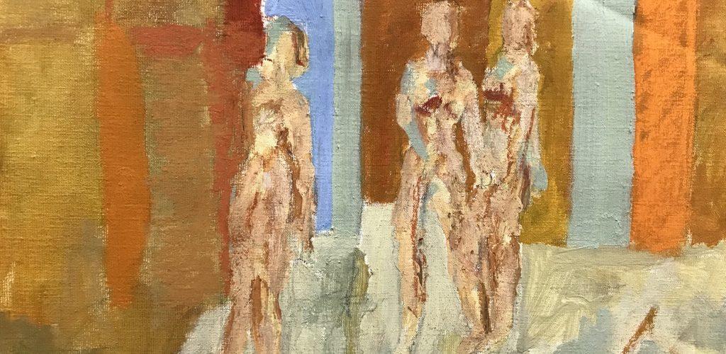 """Anders Palmér – """"Människors intåg"""" – ny målningar"""
