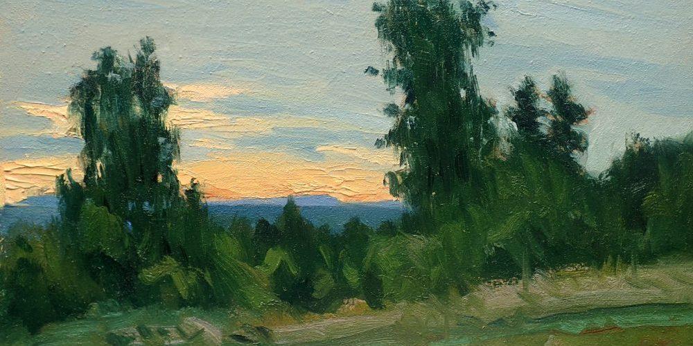 Anders Ståhl – landskapsmålningar och flamencomotiv