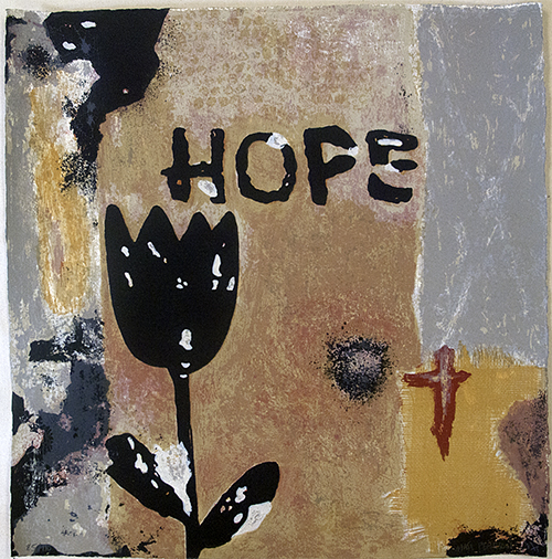 Mats Pehrson -Hope -Litografi 10 färger
