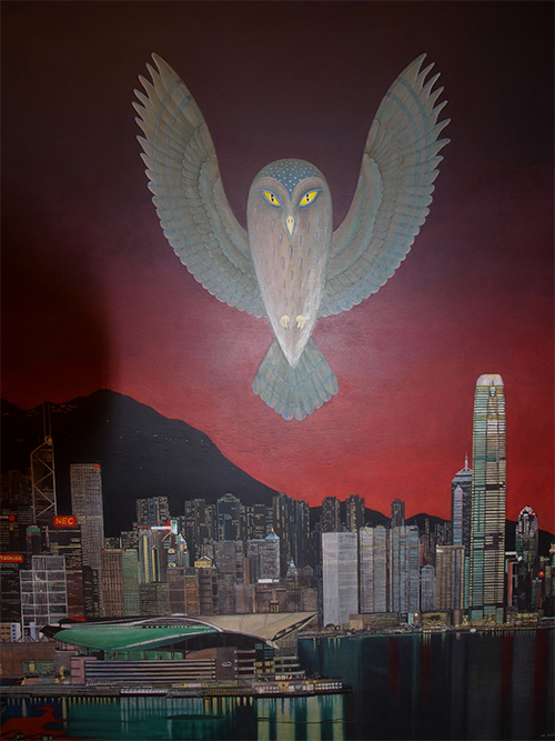 Ivar Södergren - Uggla i Hong Kong