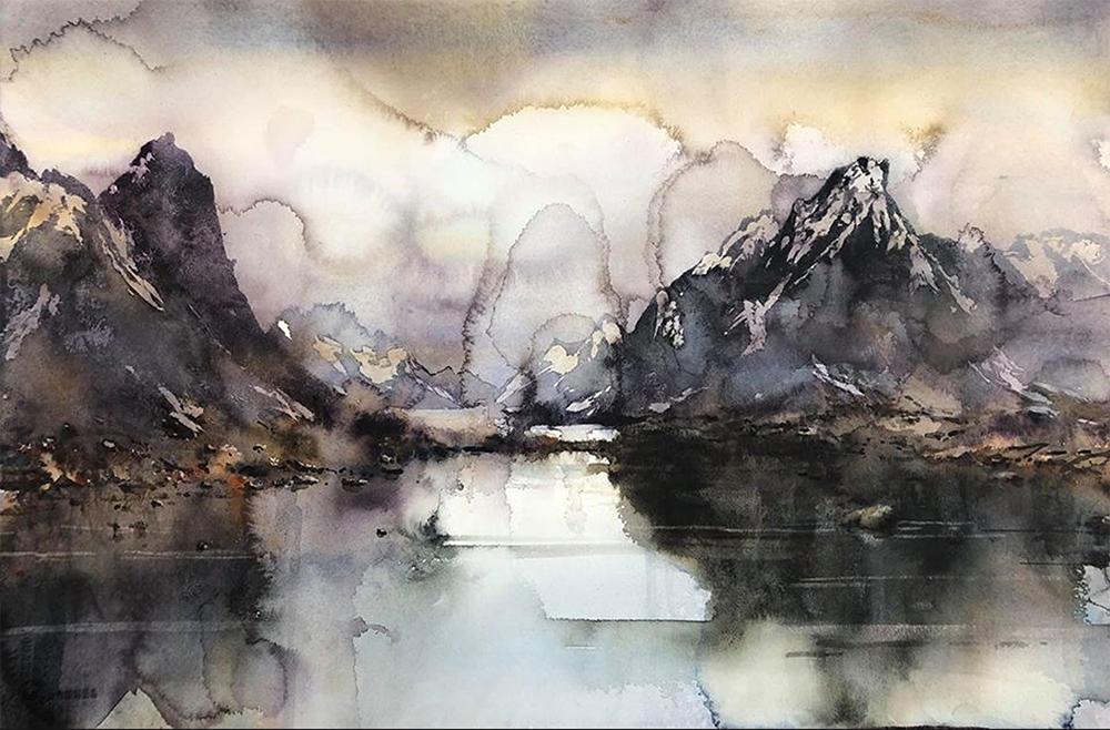 Björn Bernström - Misty - Lofoten