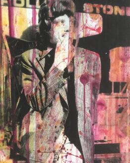 Jan-Olofsson-Mick-Jagger-1966-Mixedmedia-110x80cm