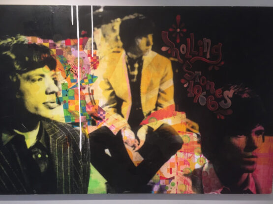 Jan-Olofsson-Rolling-Stones-1966-Mixedmedia-140x100cm