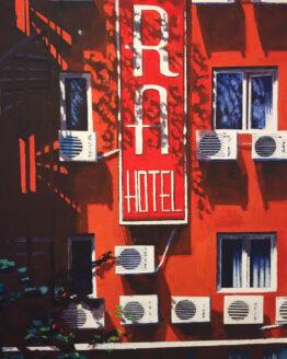 Per-Lindqvist-Agora-Hotel-Digital-print-40x50-cm-Numrerad-och-Signerad-3.500kr
